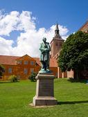 Hans Christian Andersen Odense Denmark — 图库照片