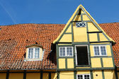 Traditional classic style Danish country house — Stock Photo