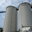Grain silo container tanks — Stock Photo