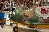North American T6 Harvard plane — Stock Photo