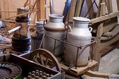 Jarra para leite antigo — Fotografia Stock