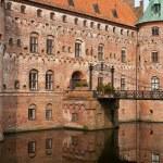 Details Egeskov castle Funen Denmark — Stock Photo