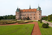 Egeskov castle Funen Denmark — Stock Photo