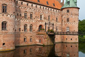 Details Egeskov castle Funen Denmark — Stock Photo