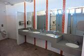 Openbare lege toilet wc toilet — Stockfoto