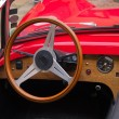 Interior and dashboard on a vintage sports car — Stock Photo #9290174