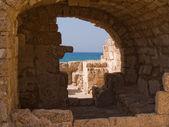 National park Caesarea Israel — Stock Photo