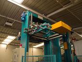 Hydrauliska, pneumatiska förpackningsmaskin — Stockfoto
