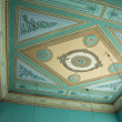 Clasical handcraft ceiling fresco — Stock Photo #9376345