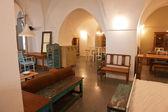 Interiors of traditional luxury Arab house — Stock Photo