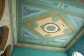 先之经典手工天花板壁画 — 图库照片