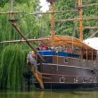 Pirate boat — Stock Photo #9380414