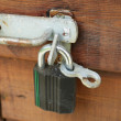 Stock Photo: Broken padlock