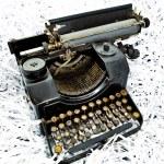 Antique typewriter — Stock Photo