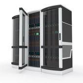 Tres servidores — Foto de Stock