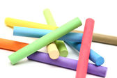 Color chalk sticks — Stock Photo