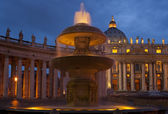 St Peter's Square - Vatican City — Stock Photo