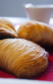 Neapolitan sfogliatella — Stock Photo