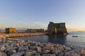 Sunset in Naples — Stock Photo