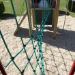 Rope climbing frame — Stock Photo #9196149