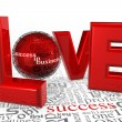Love for Success — Stock Photo #9197321