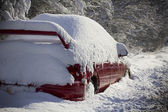 Buried and going nowhere — Stock Photo