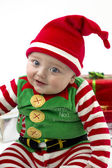 Babys First Christmas — Stock Photo