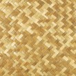 Weaved rattan mat — Stock Photo