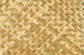 Weaved rattan mat — Stock Photo