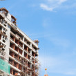 High rise building under construction — Stock Photo #8422409
