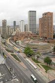 Bogota Center down the street twenty six — Stock Photo