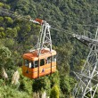 Cable Car in Bogota Colombia Monserr - Stock Photo