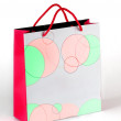 Christmas Gift Bag — Stock Photo #8365037