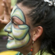 Street Theatre Festival Bogota Colombia — Stock Photo