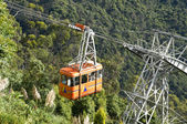 Cable Car in Bogota Colombia Monserr — Stock Photo