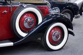 Классический автомобиль колеса — Стоковое фото