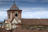 Church, Cathedral, religious building, roof — Stock Photo