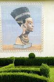 Posąg faraona egipskiego — Zdjęcie stockowe