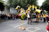 Festival de teatro de rua Bogotá Colômbia — Fotografia Stock