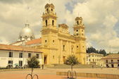 Chiquinquira Cathedral Boyaca Colombia — Stock Photo