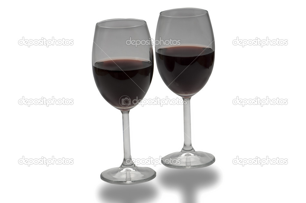 Glass cups red wine Alcohol  Stock Photo #8364558