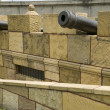 Cannon and cannon balls — Stock Photo #9110511
