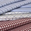 Fabric colors and stripes - Stock Photo