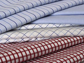 Fabric colors and stripes — Stock Photo