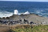 ломать волны — Стоковое фото