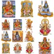 Composition with hindu gods — Stock Photo #8283370