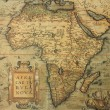 Foto Stock: Antique map of Africa