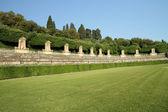 Italian historic garden — Stock Photo