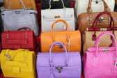 Handbags collection — Stock Photo