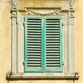 Antique window — Stock Photo